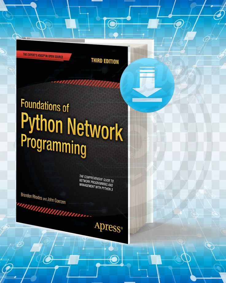 Download foundations of python network programming