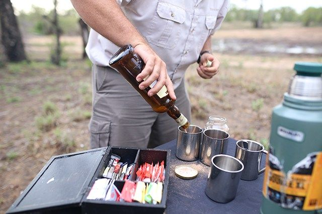 What any modern-day explorer should wake up to! #Coffee, Cocoa powder and a dash of Amarula... can we have a #YUM?