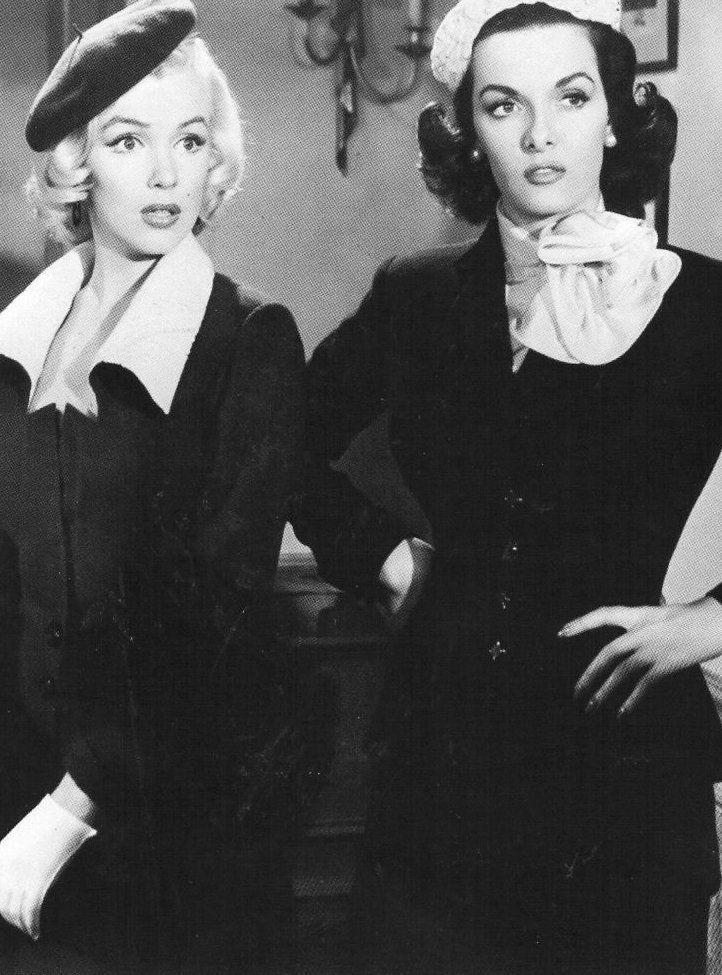 """1953 """"Gentlemen prefer blondes"""" (Les hommes préfèrent les blondes) de Howard HAWKS / """"When love goes wrong..."""" (part 2)"""