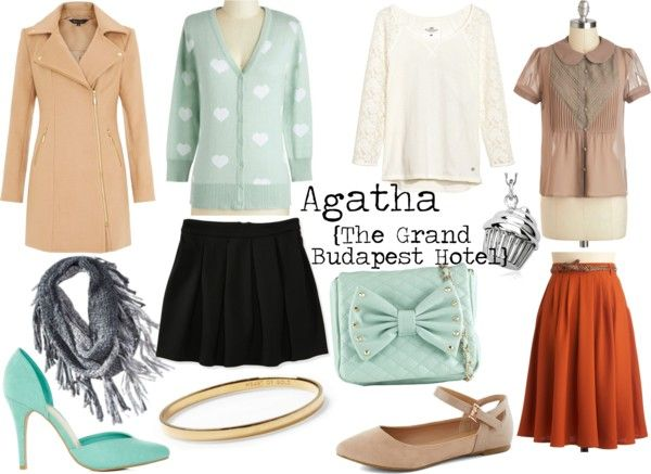 Inspired By: The Grand Budapest Hotel {Agatha}