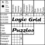 Christmas Presents, A logic grid puzzle brought to you by logicgridpuzzles.com