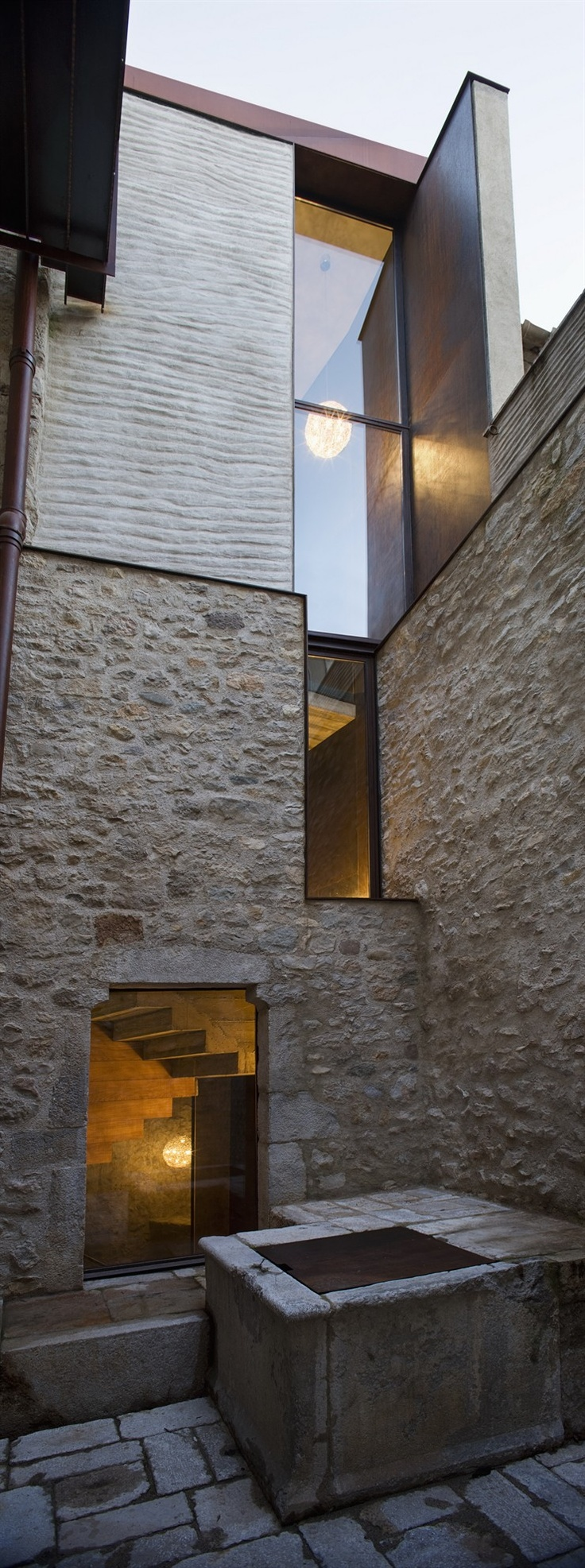 Alemanys 5 - Beautiful restoration in Girona, Spain by Anna Noguera Architects: Architects, Anna Noguera, Enric Duch, Photo Enric, Noguera Nieto, Alemani, House, Architecture, Modern Homes