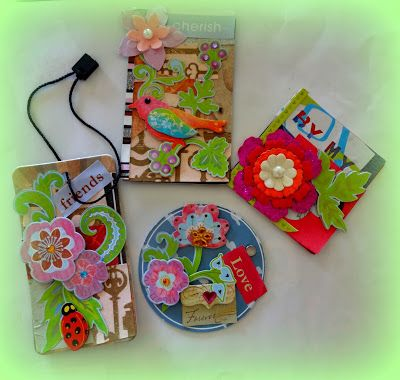 HappyMomentzz crafting by Sharada Dilip: Make your own embellishments / DIY Scrapbook embel...