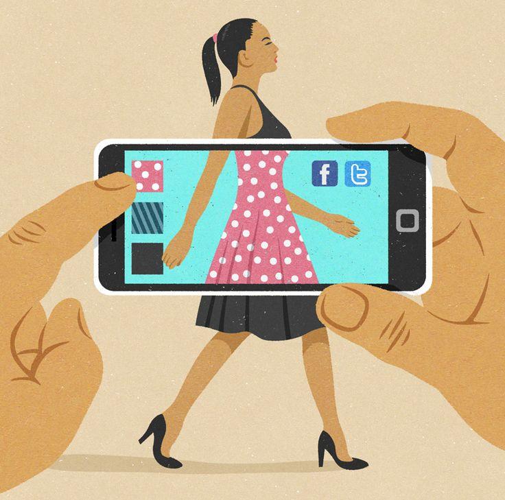 #JohnHolcroft #editorialillustration #illustration #social #facebook #lindgrensmith