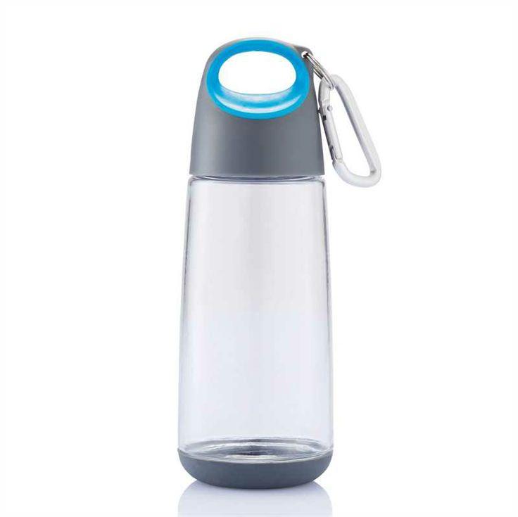 Flasche mit Karabiner Bopp Mini Transparent/Blau XD-DESIGN Kanne, Becher, Thermo