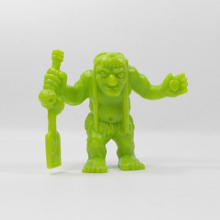 Monster In My Pocket - Series 1 - 42 Charon - Olive Green - Mini Figure