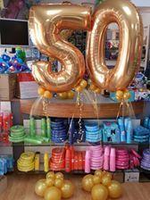 numero 50 gigante per nozze d oro