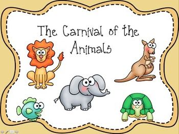 52 best images about Music Classroom - Carnival of the Animals on ...