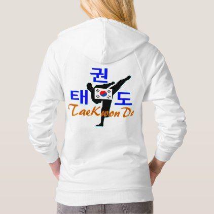 Love Korean Martial Art-TaeKwonDo Fleece Hoodie - cool gift idea unique present special diy
