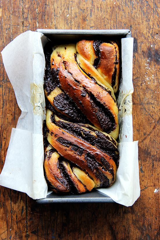 Chocolate-Orange Babka — a braided Jewish baked good that straddles the line between bread and dessert