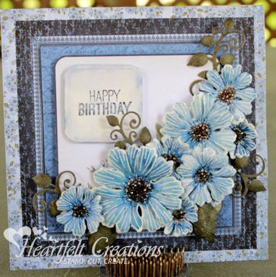60 best hfc majestic morning blooms images on pinterest happy birthday using the cut mat create collection and majestic blooms designed by karan gerber m4hsunfo