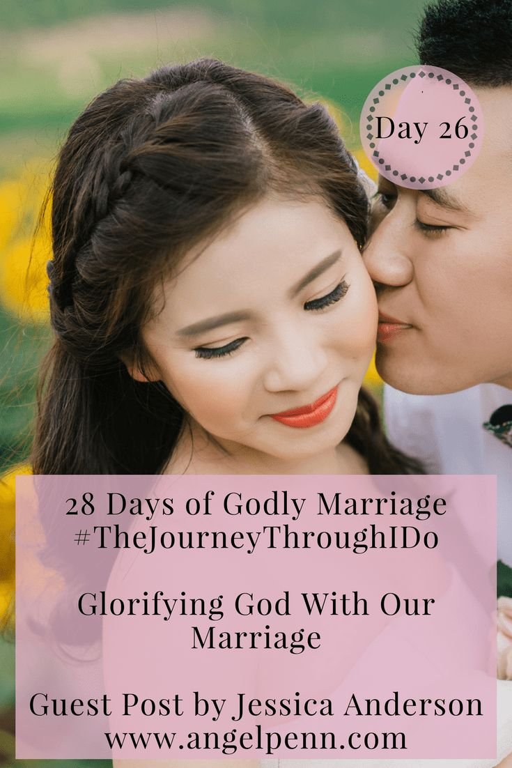 Want to know how to glorify God in your marriage? Come and read Jessica's testimony on how her and husband are glorifying God in their marriage and how you can too.