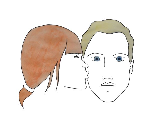 Men and skincare Illustration by Ana for Better Than Ann