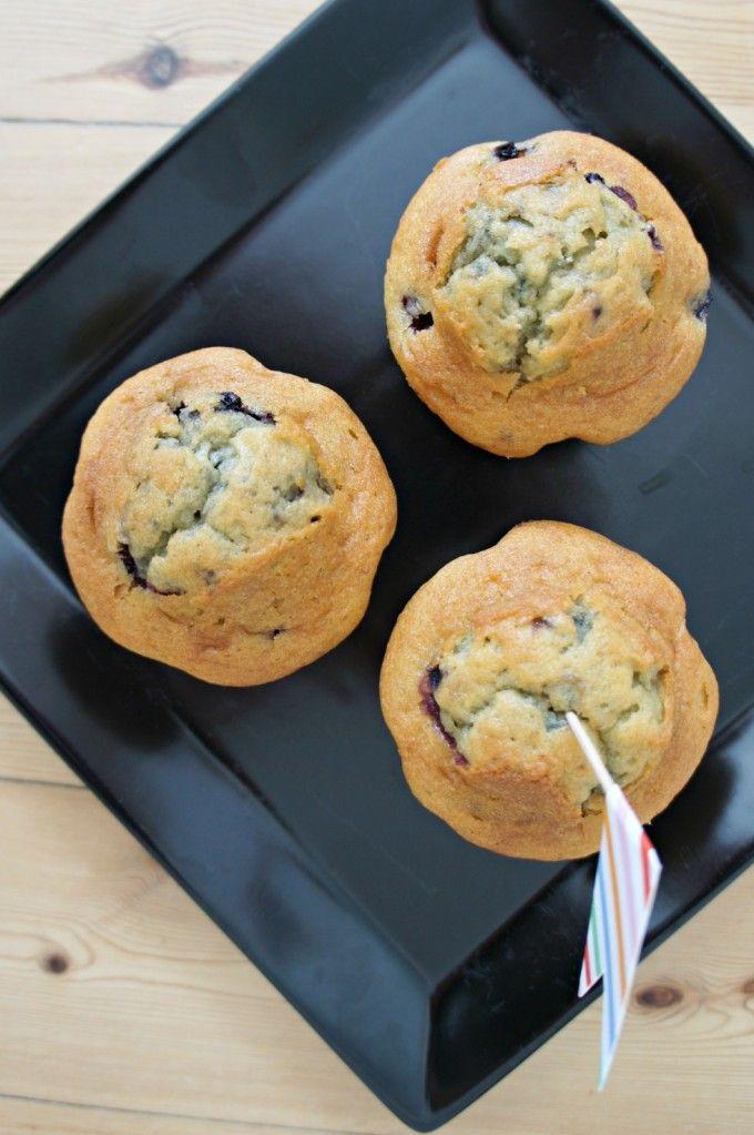 Glutenfrie, saftige blåbærmuffins med et twist af appelsin – opskrift (sukkerfri, laktosefri, glutenfri)