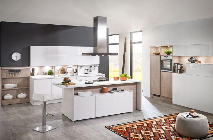 Weiße Küchen: 7 Ideen und Bilder für Küchen in Weiß | Kitchen design ...