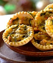 Spinach and Ricotta Individual Tarts - RecipeView | Stork