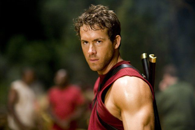 Ryan Reynolds was chiseled for his role in 2009's X-Men Origins: Wolverine.