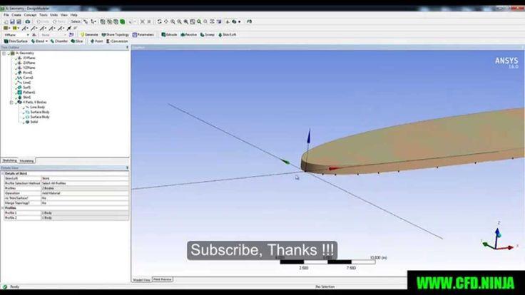 Design Modeler NACA AIRFOIL
