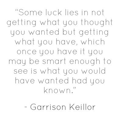 Smart words from Lake Wobegon (where the children are above average)