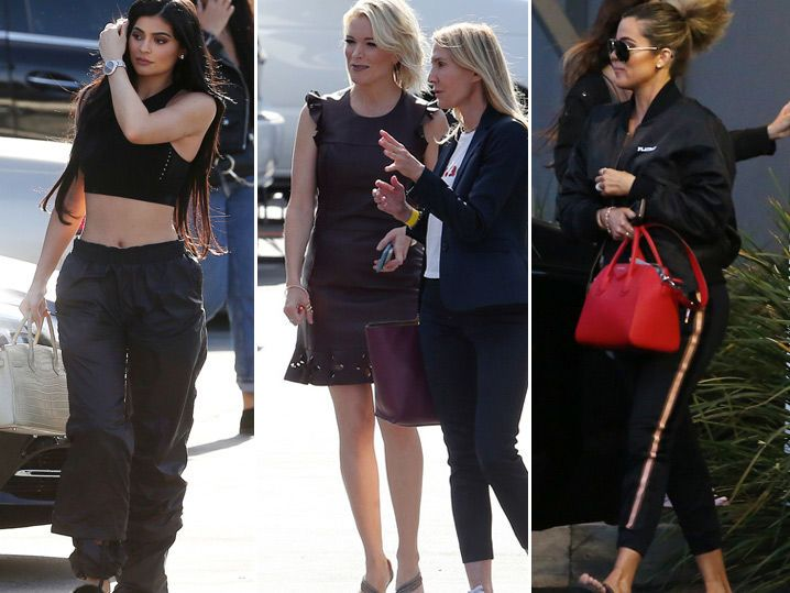 Megyn Kelly Kicks Off New Show with Kardashian Family (PHOTO GALLERY)