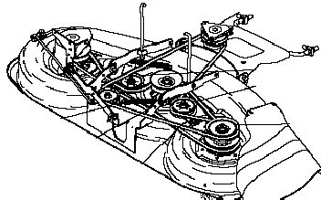 craftsman tractor belt diagram 461 outdoor power. Black Bedroom Furniture Sets. Home Design Ideas