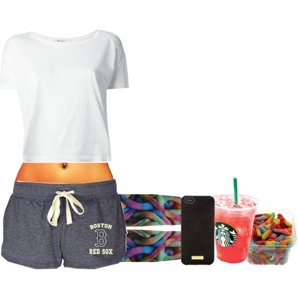 night set, created by chyna-campbell on Polyvore