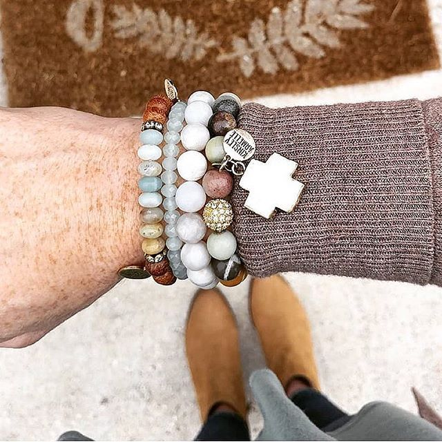 Repost from @notably_natalie Such a soothing color combo  . Find your favorite @kinsleyarmelle accessories at the link in my bio. . . . #kinsleyarmelleambassador #kinsleyarmelle #myfavorite #accessories #morsel #flurry #solar #cross #bracelets #stack #soothing #fashion #mystyle #styledbyme #unique #affordable #discountcode #NAT15OFF
