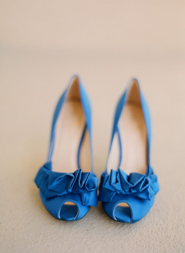Something blue # shoes | Photography: http://www.lexiafrank.com