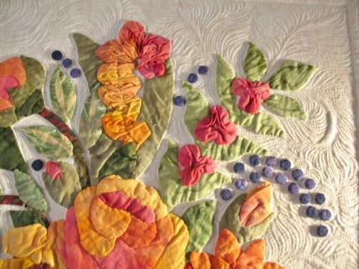 Margo Clabo applique quilt  | Kathy Drew Quilting