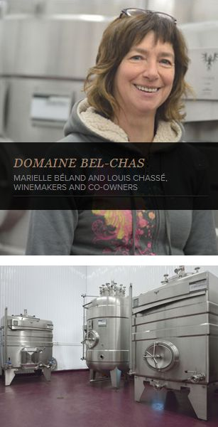 """Marielle Béland testimonial : """"Our La Garde #tanks enable us to control any and all parameters necessary for the creation of quality products."""" #WineMaker #WineTank #WineMaking http://www.lagardeinox.com/en/realisations"""