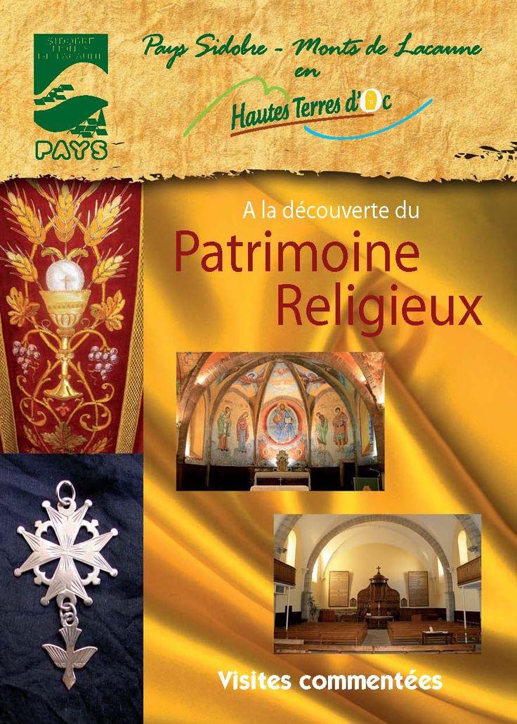 Découvrez le patrimoine religieux dans les Monts de Lacaune et le Sidobre. http://www.tourisme-montsdelacaune.com/wp-content/uploads/2012/03/Patrimoine-Religieux.pdf