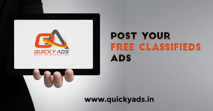 #Freeclassifedsites  Quicky Ads is the free classified website to post free ads around the world within few steps.  Trusted classified website  For more info  https://goo.gl/CYsUzS