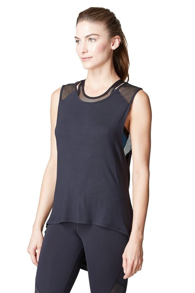 Black Designer Top #activetop #workoutstyle #blacktop