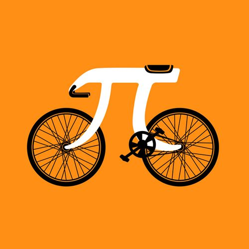 It's a Picycle, for Pi Day! @Samantha Winkelman. @Carrie Adams