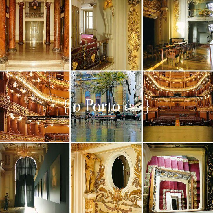 o Porto é... o teatro s. joão