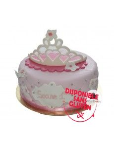 gâteau d'anniversaire diadème