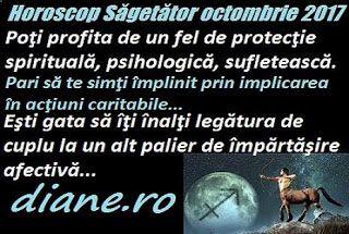 Horoscop octombrie 2017 Săgetător