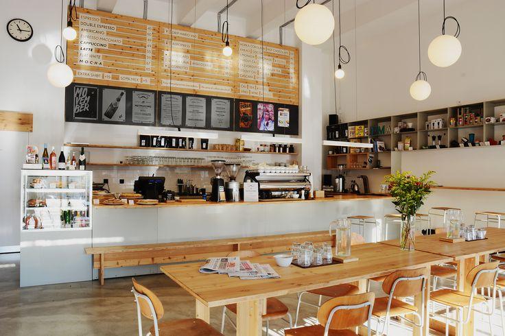 EMA espresso bar, Prague