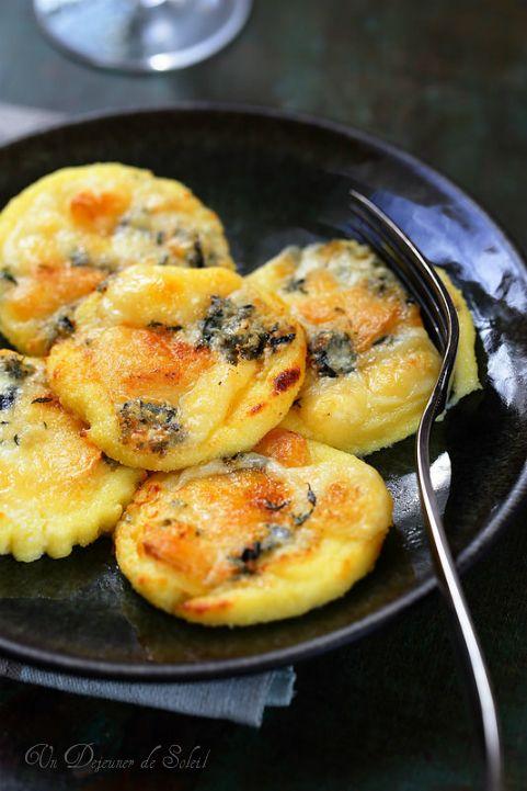 Gnocchi de semoule gratinés au fromage                                                                                                                                                                                 Plus