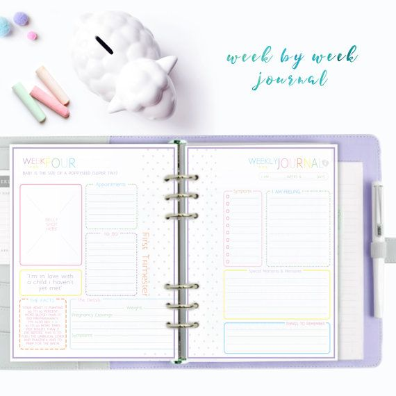 PREGNANCY PLANNER  Ultimate Printable Pregnancy Book  by theprintablecafe | Etsy