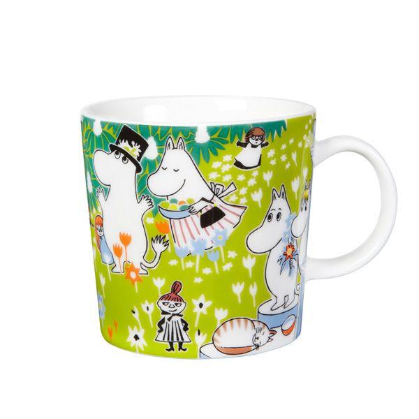 Moomin mug, Tove's jubilee, by Arabia.