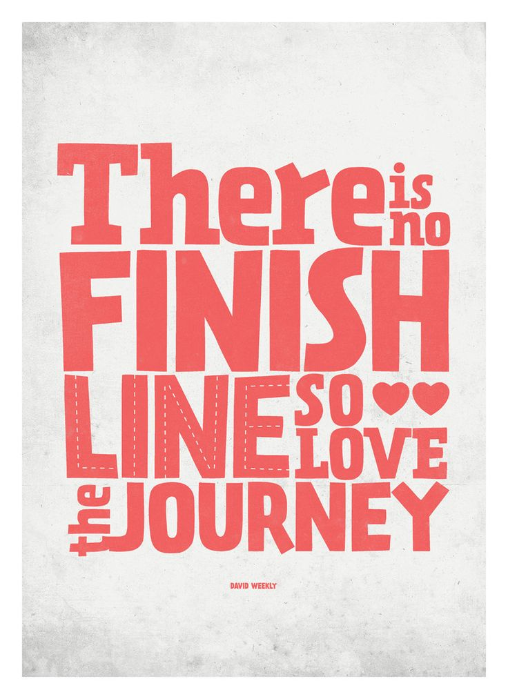 Inspirational Life Quote poster - Love the Journey - typography wall decor print A3. $18.00, via Etsy.