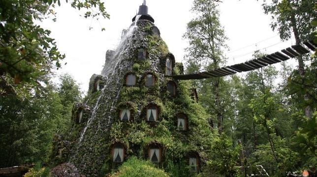 Montaña Mágica Lodge, en Chile, un hotel de una belleza impresionante y único en el planeta.