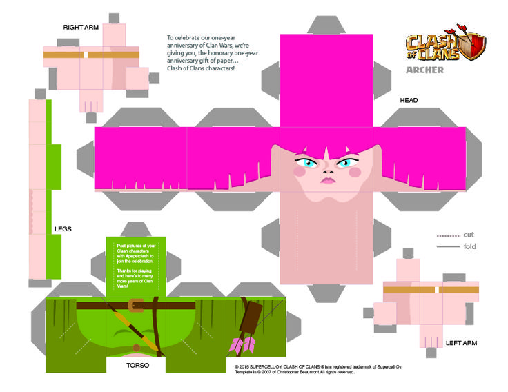 Clash Of Clans Coloring Pages Pdf : Best clash of clans coloring pages images on pinterest