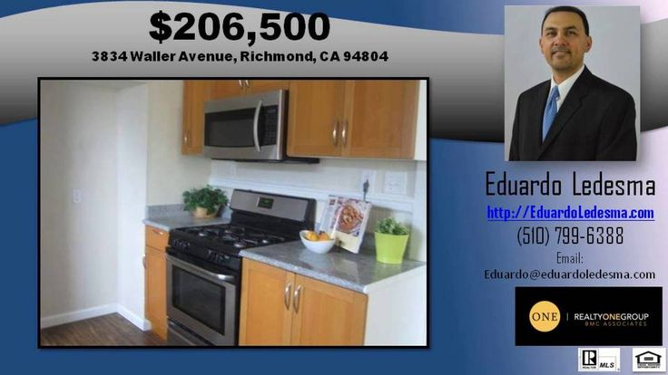 http://ift.tt/29pZS8q Single Family Homes for sale in 94804 - Call Eduardo Ledesma at 510-799-6388 - http://ift.tt/1Lx7UWn - 3834 Waller is a house in Richmond  CA 94804. This 696 square foot house sits on a 2 500 square foot lot and features 2 bedrooms and 1 bathroom. This property was built in 1913. Nearby schools include King Elementary School  Lovonya Dejean Middle School and Kappa Continuation High School. Nearby coffee shops include Starbucks. Nearby restaurants include Wing Stop…