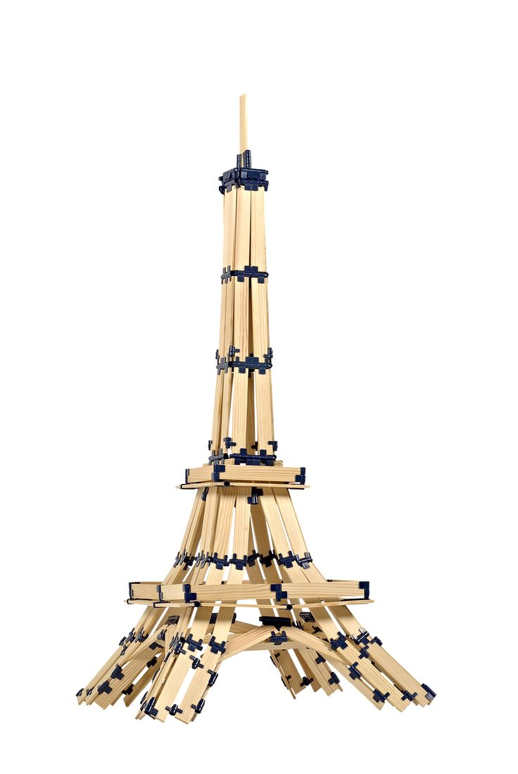 Eiffel Tower built with TomTecT Blocks.