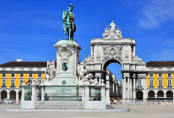 Carte de Lisbonne : Plan touristique Lisbonne