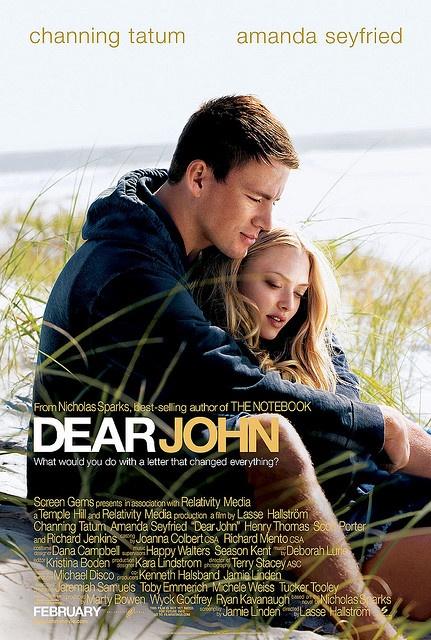Dear John Movie Poster   #movies  #movieposters    I love this flick would like to see it again ! wish I had this promotional poster at my crib