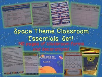 Space Classroom Essentials Set now released!  http://theorganizedclassroomblog.com/index.php/ocb-store/view_document/255-space-theme-classroom-essentials-set  $14.99