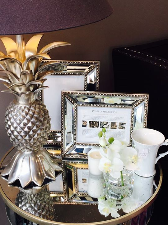 #Pineapple #table #lamp from In #Style #Melbourne http://www.instylemelbourne.com http://www.facebook.com/instylemelbourne